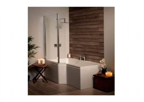 Carron Urban Edge 1575mm Shower Bath